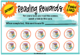 Reading Rewards Punch Card