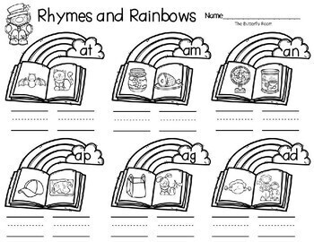 Reading, Rhymes and Rainbows