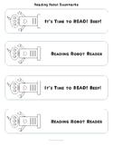 Reading Robot Bookmarks