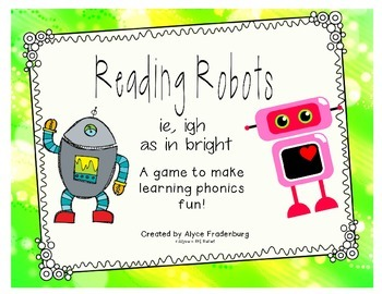 Reading Robot ie/igh say i