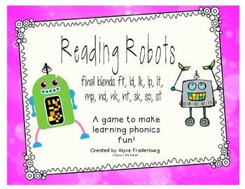 Reading Robots Final blends