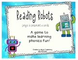 Reading Robots Long a final e
