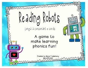 Reading Robots Long a final e