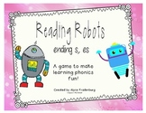 Reading Robots Plural s, es