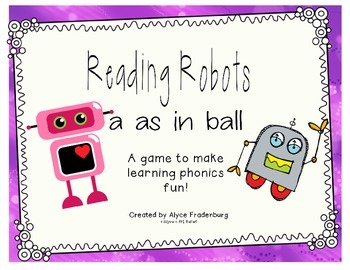 Reading Robots a as in ball