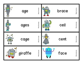 Reading Robots c /s/ g /j/