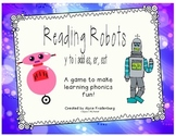 Reading Robots change y to i