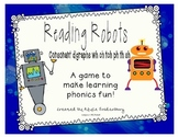 Reading Robots consonant digraphs