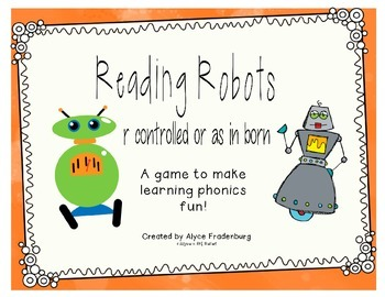 Reading Robots controlled r as in born