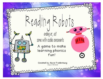 Reading Robots er/est