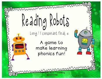 Reading Robots i consonant final e