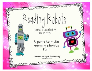 Reading Robots i/e spelled y