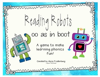 Reading Robots oo as in boot