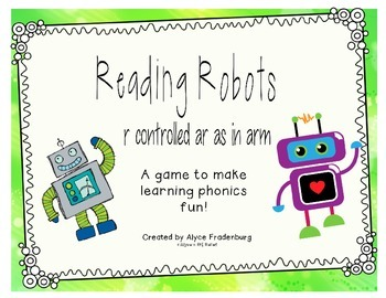 Reading Robots r controlled a as in arm