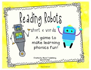 Reading Robots short e