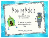 Reading Robots u consonant final e and e consonant final e