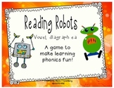 Reading Robots vowel diagraph ea
