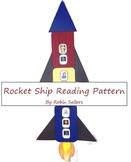 Reading Rocket Ship Pattern
