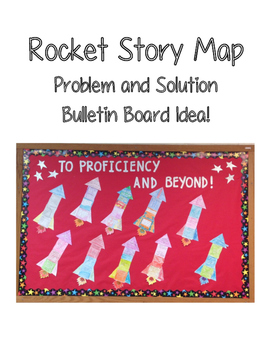 Reading Rocket Story Map: Problem and Solution Bulletin Board Display