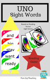 Reading Rocket UNO, Sight words Card Game