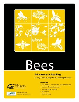 "Reading Rockets Literacy Activity Bees ""The Life & Times of the Honeybee"""