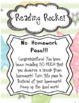 Reading Rocks! At Home Reading Incentive Program