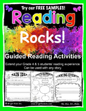 Reading Rocks Grade 4 and 5 Guided Activities - Free Sample - DOWNLOAD & TEACH!