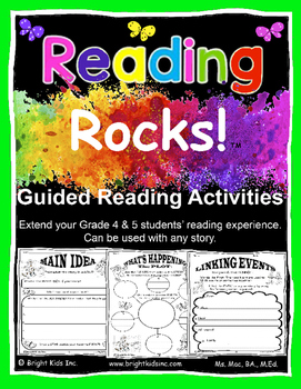 Reading Rocks Grade Four and Five Guided Activities - JUST DOWNLOAD & TEACH!