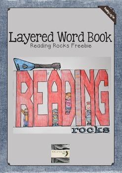 Reading Rocks Layered Word Book Freebie
