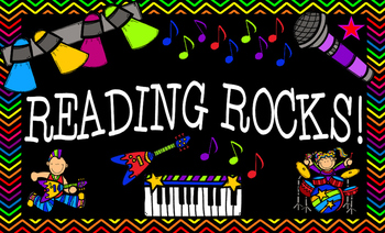 Reading Rocks! Legal-Sized Rock Star Poster
