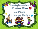 Reading Rocks Stars Wham! A High Frequency Card Game for E