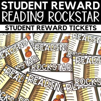 Reading Rockstar Reading Award
