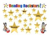 Reading Rockstars Poster