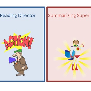 Reading Role Cards in English and Spanish