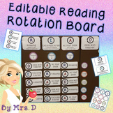 Reading Rotation Board - Editable