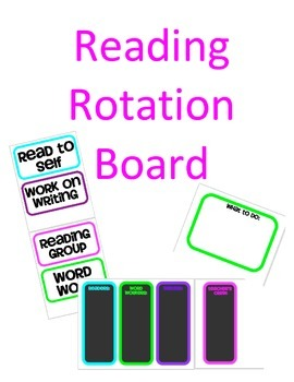 Reading Rotation Board (PDF)