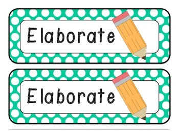 Reading Rotation Board {chalkboard & bright dots}