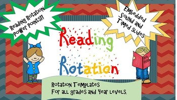Reading Rotation Power Point Templates/Example