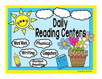 Reading Rotation Powerpoint for Centers & Guided Reading S