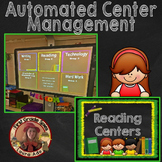 Reading Rotation Powerpoint for Centers & Guided Reading C