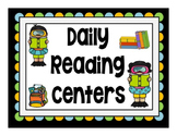 Reading Rotation Powerpoint for Centers & Guided Reading Summer Fun Design