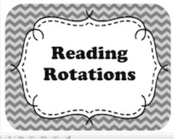 Reading Rotation Schedule K-2