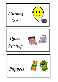 Reading Rotation Task Cards