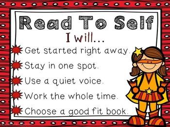 Reading Rotations--Superheroes!