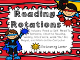 Reading Rotations--Superheroes!