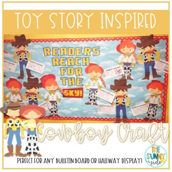 Reading Roundup! Toy Story Inspired Bulletin Board Craft
