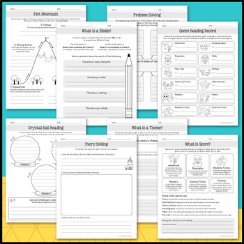 Graphic Organizers Reading Comprehension