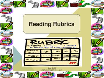 Reading Rubric: 7th Grade