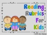 Reading Rubrics