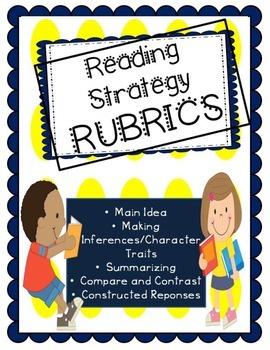 Reading Strategy Rubrics